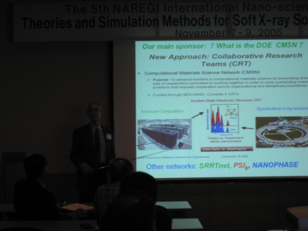 Photos of the 5th NAREGI International Nano-science Symposium